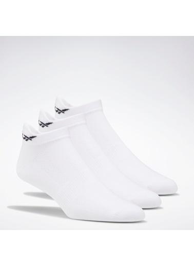 Reebok Kadın Beyaz One Serıes Traınıng Çorap Spor Çorap FQ6251 Beyaz